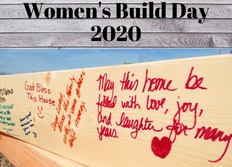 Women's Build Day 2020