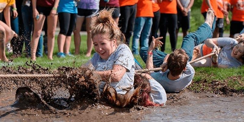 Hurricane Mud Run – Tug O' War