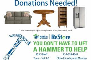 January Donation Drive