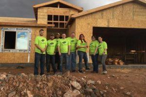 Habitat Home Build Volunteers