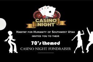 70's Themed Casino Night! – Habitat for Humanity of Southwest Utah